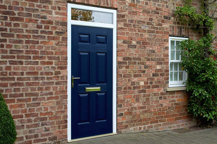 Royal Blue Solid Door